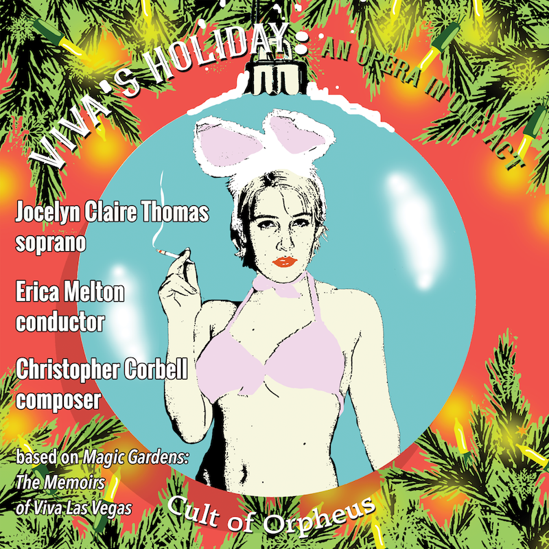 Viva's Holiday: An Opera in One Act original recording is now available! (Download or CD)